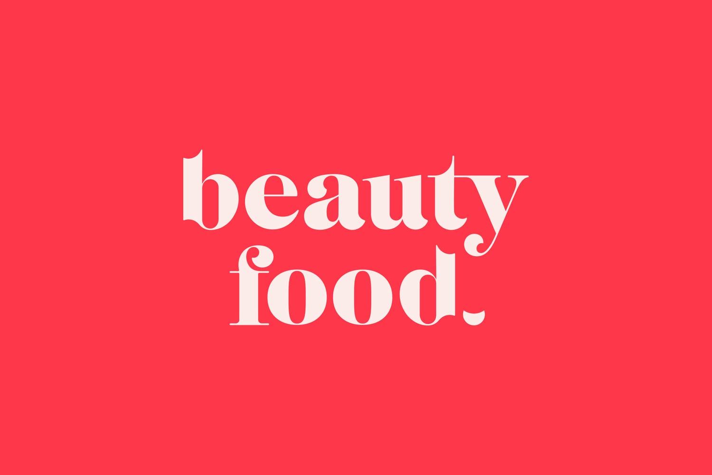Beauty Food Brand Logo