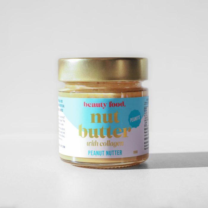 A studio shot of the Beauty Food Peanut Nutter Nut Butter