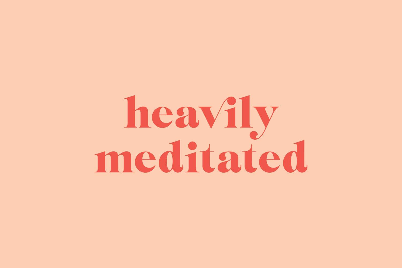 Heavily Meditated Brand Logo