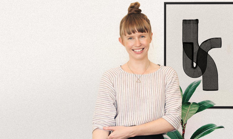 Dani Hunt, Founder of Neverland Studio, Smiling Broadly